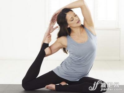 瑜伽瘦身小動作 6式瑜伽瘦全身